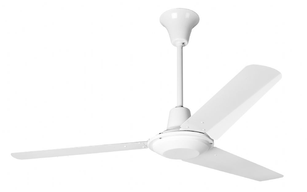 Eurofans Commercial 48 White Ceiling Fan 111887
